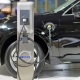 Volvo vehicle plugged-in to an electric charger